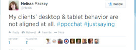 my tweet about tablets