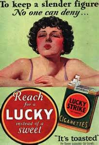 iconic lucky ad